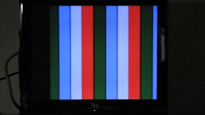 A2601 Rev B NTSC Color Bars Output