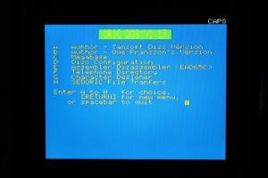 Cumulus Oric DOS Boot