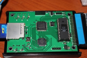 Cumulus rev B1 PCB Top Side